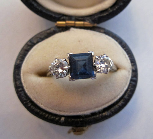 Shire Diamond Ring Deco Antique Rings