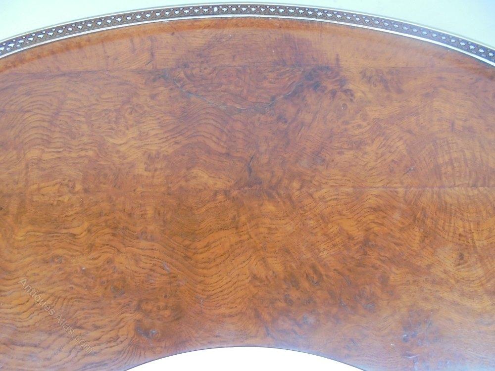 Photos. Regency Burr Oak Table ...