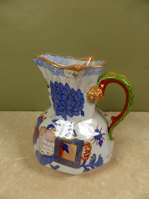 Antiques Atlas 19th C Masons Ironstone Jug