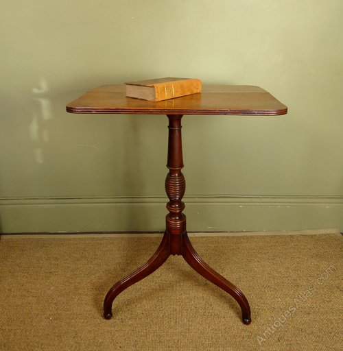 Early 19th C Yew Wood Table