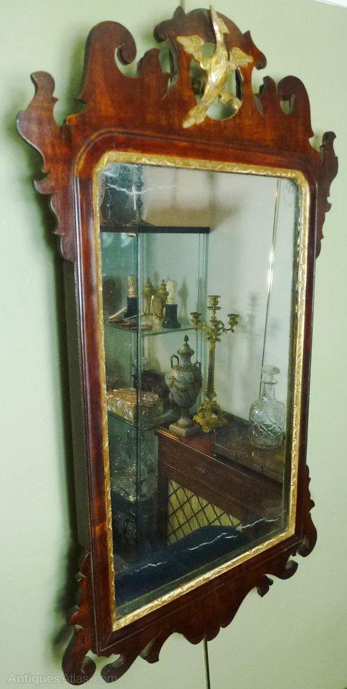 Antiques Atlas George Iii Mahogany Wall Mirror