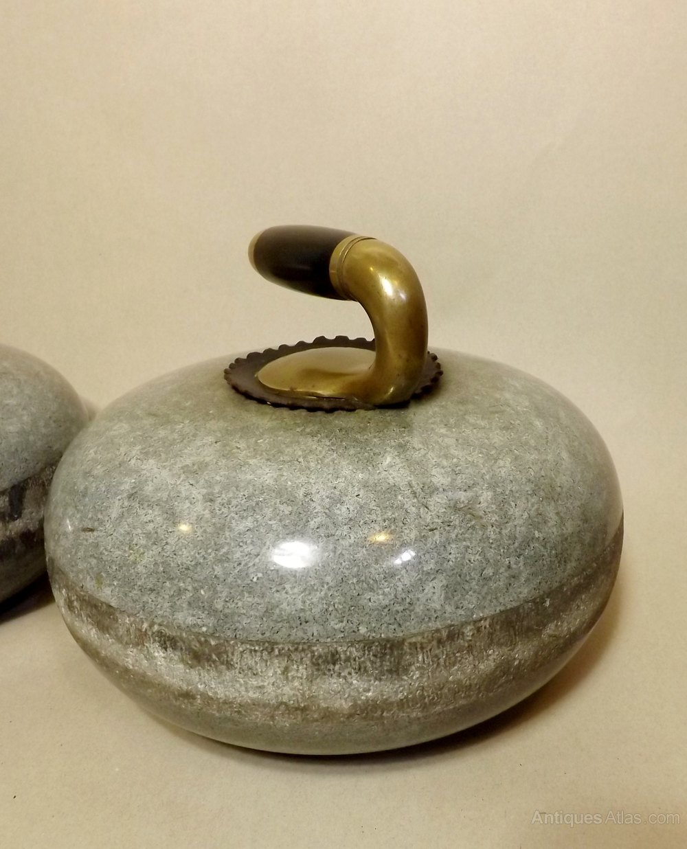 Antiques Atlas Pair 19th C Curling Stones