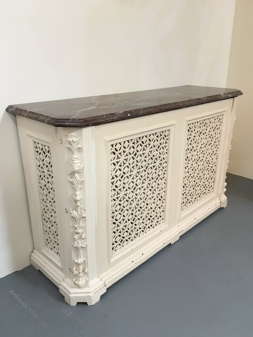 Antiques atlas cast iron radiator cover - Cast iron radiator covers ...