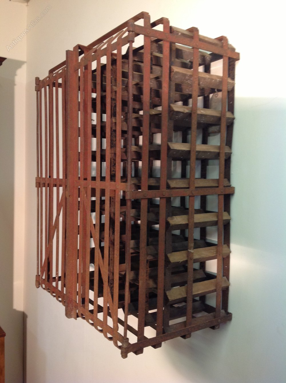 Country House Wine Rack Antique Wine Racks ... - Country House Wine Rack - Antiques Atlas