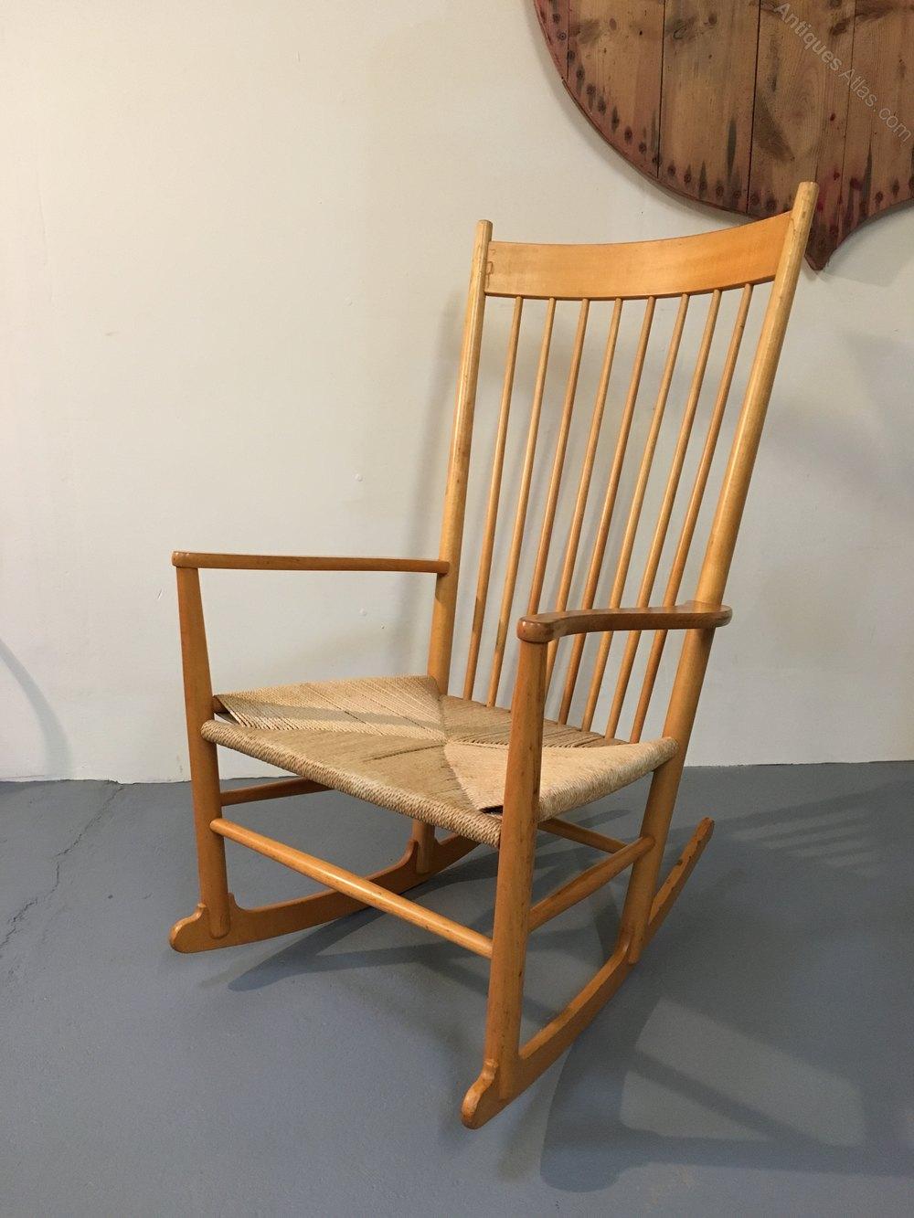 Hans Wegner J16 Rocking Chair ...