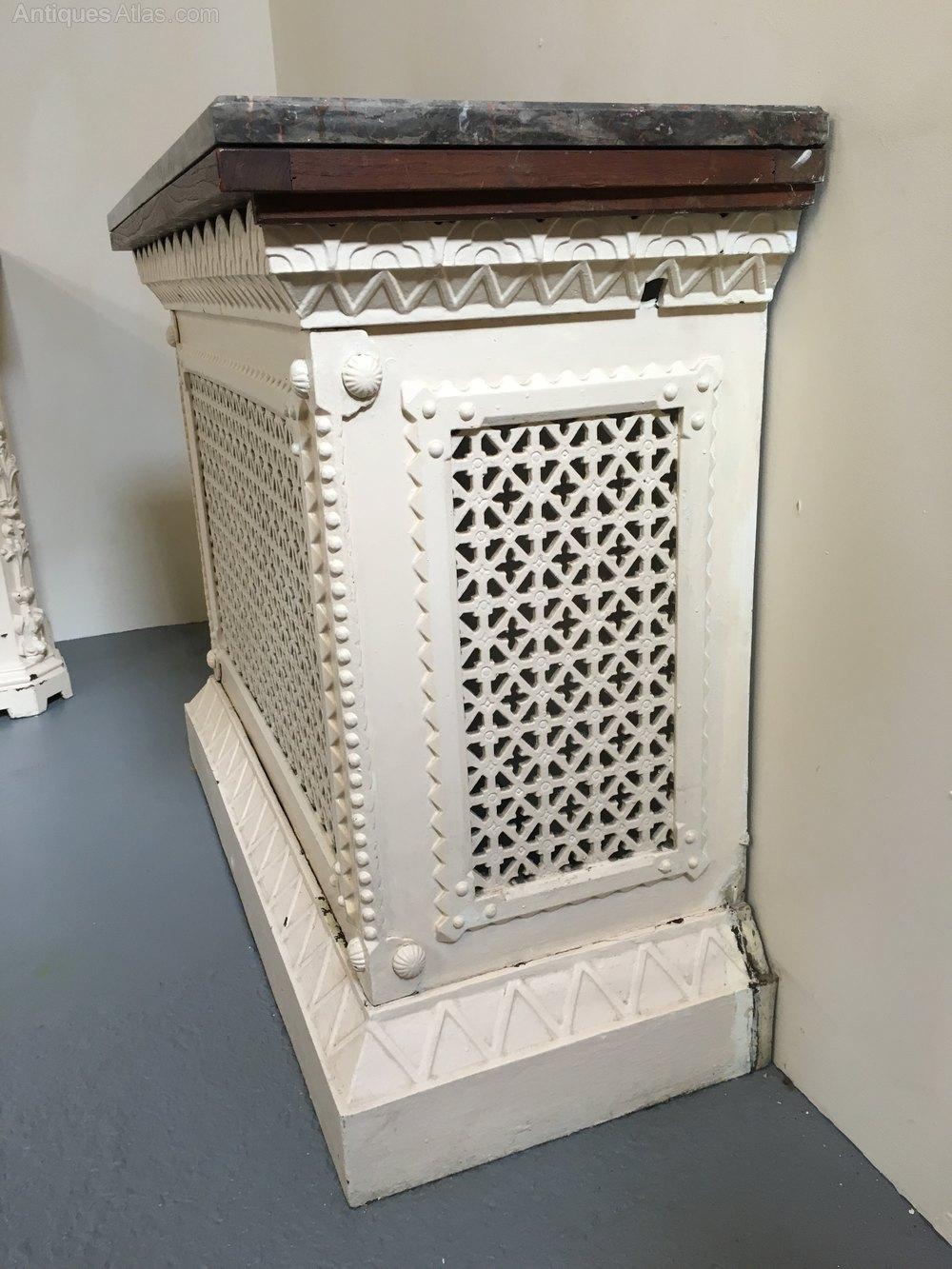 Antiques atlas small cast iron radiator cover - Cast iron radiator covers ...