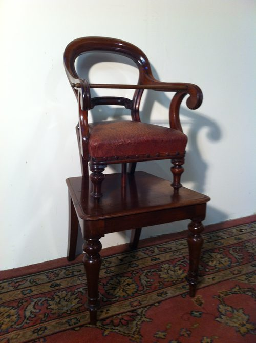 Victorian Childs High Chair - Victorian Childs High Chair - Antiques Atlas