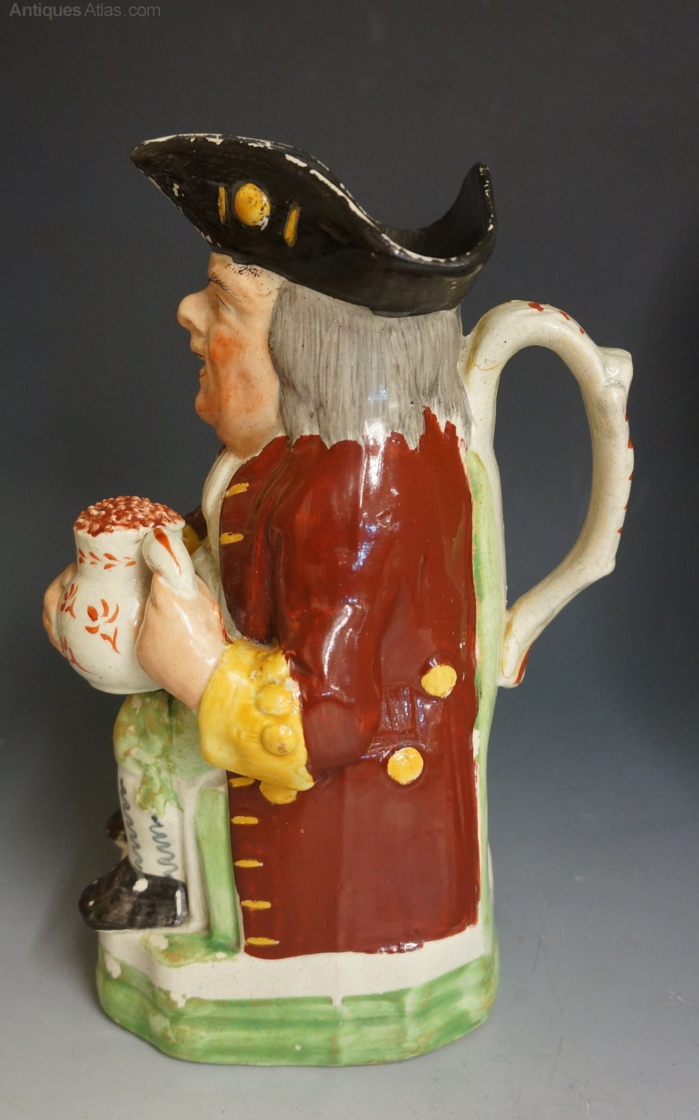 Stock Interiors Com >> Antiques Atlas - A Lovely 19th Century Toby Jug