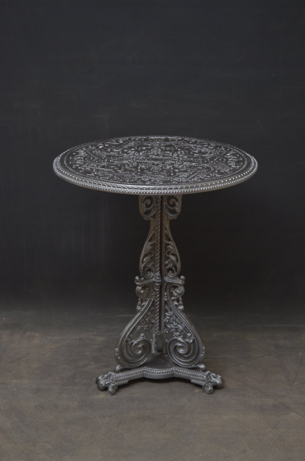 Antiques Atlas Cast Iron Garden Table