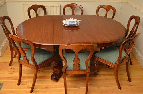 Early Victorian Pedestal Extending Dining Table Antiques Atlas