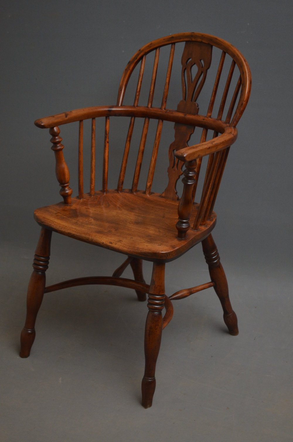 Early Victorian Yew Wood Windsor Chair Antiques Atlas
