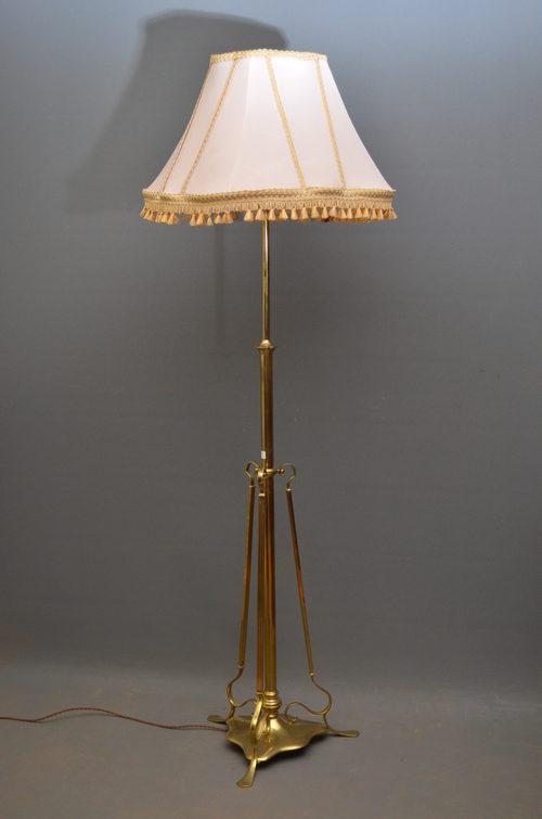 Dorable antique brass floor lamp uk embellishment best home antiques atlas early xx century floor lamp aloadofball Images
