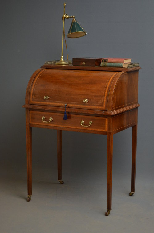 Edwardian Bureau Writing Desk Antiques Atlas
