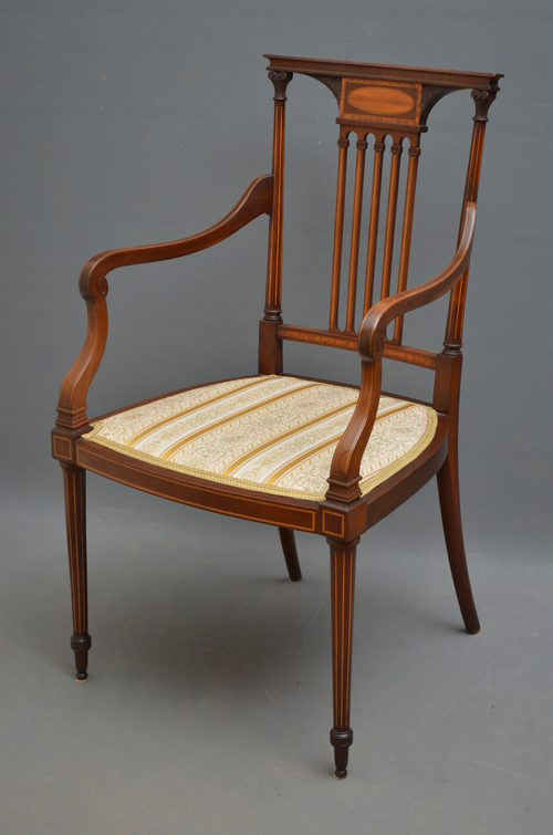 Edwardian Chair By Thos Turner Manchester ...