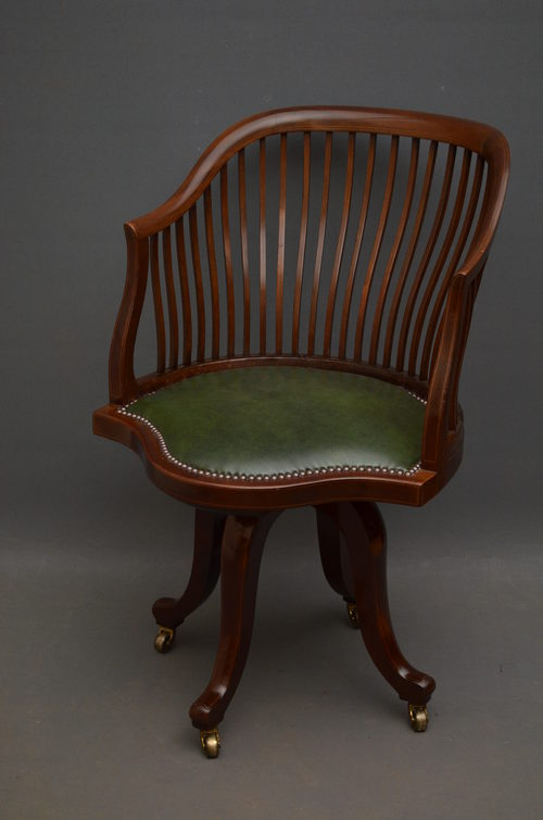 - Edwardian Office Chair - Antiques Atlas