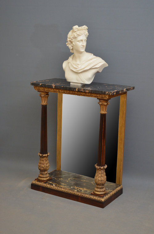 Delicieux Exceptional Regency Console Table ...