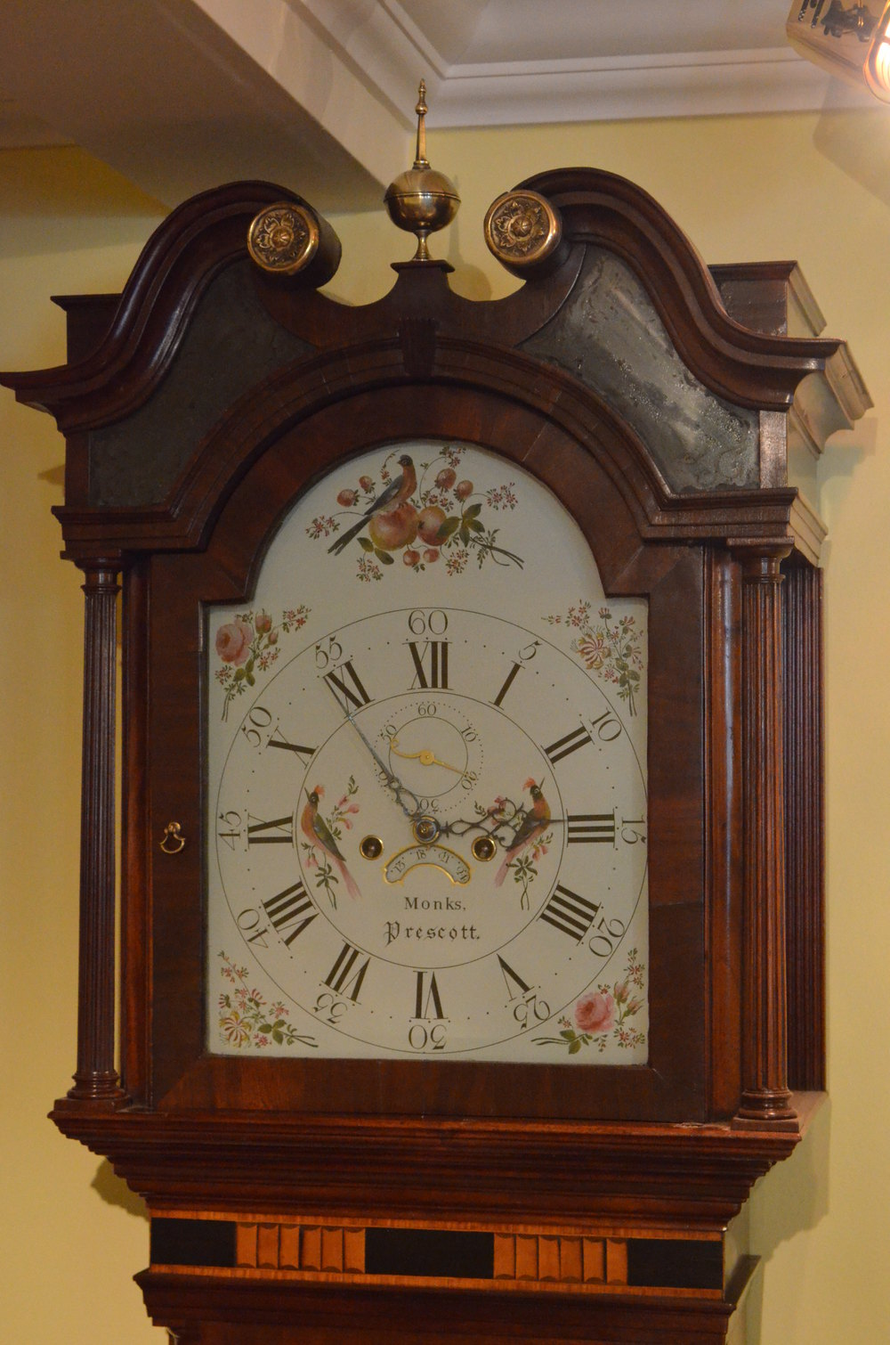 Antiques Atlas Fine Georgian Longcase Clock By Monks