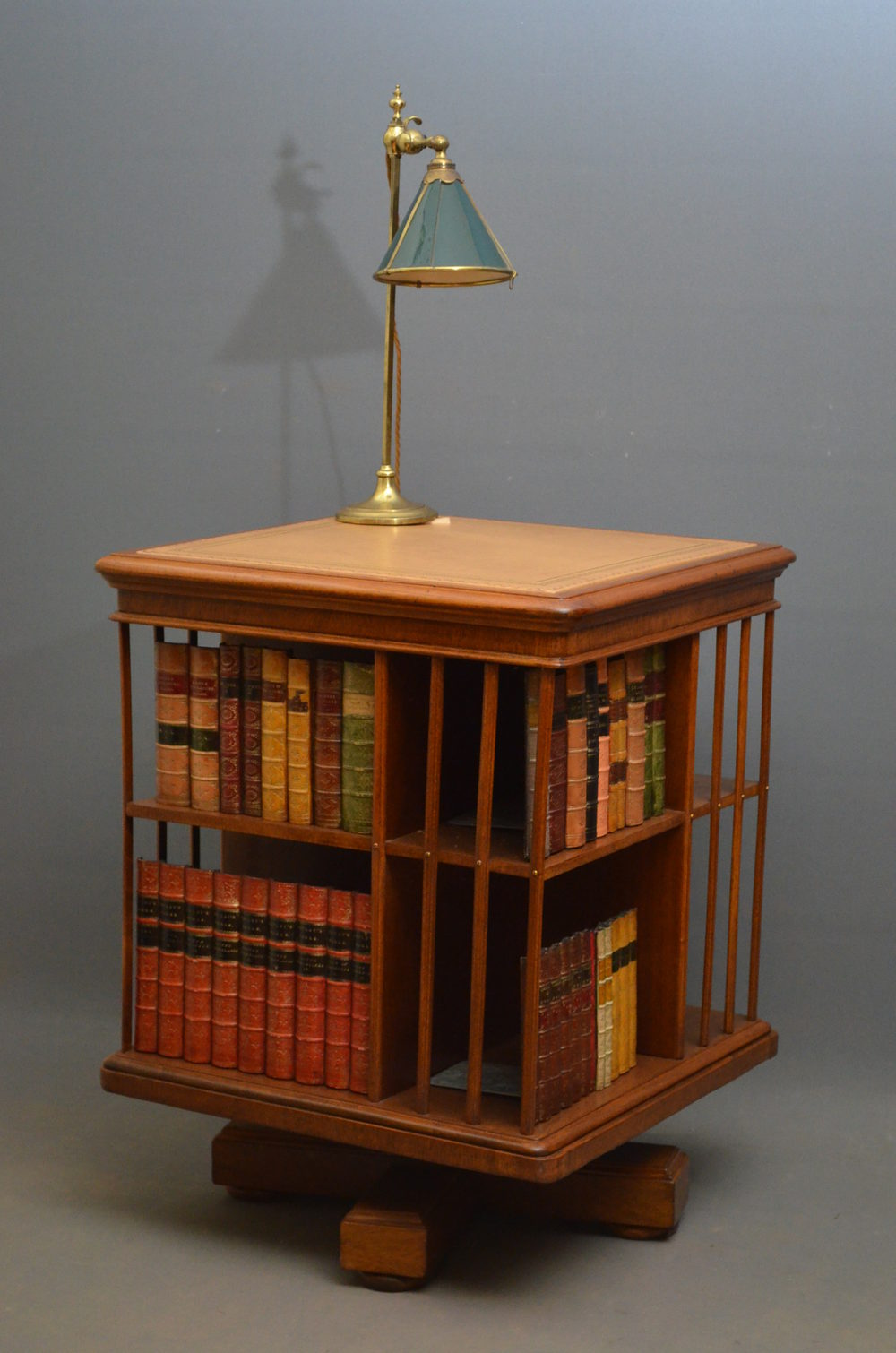 hesketh parcel regency rosewood revolving neston easton bookcase pin lord gilt from s