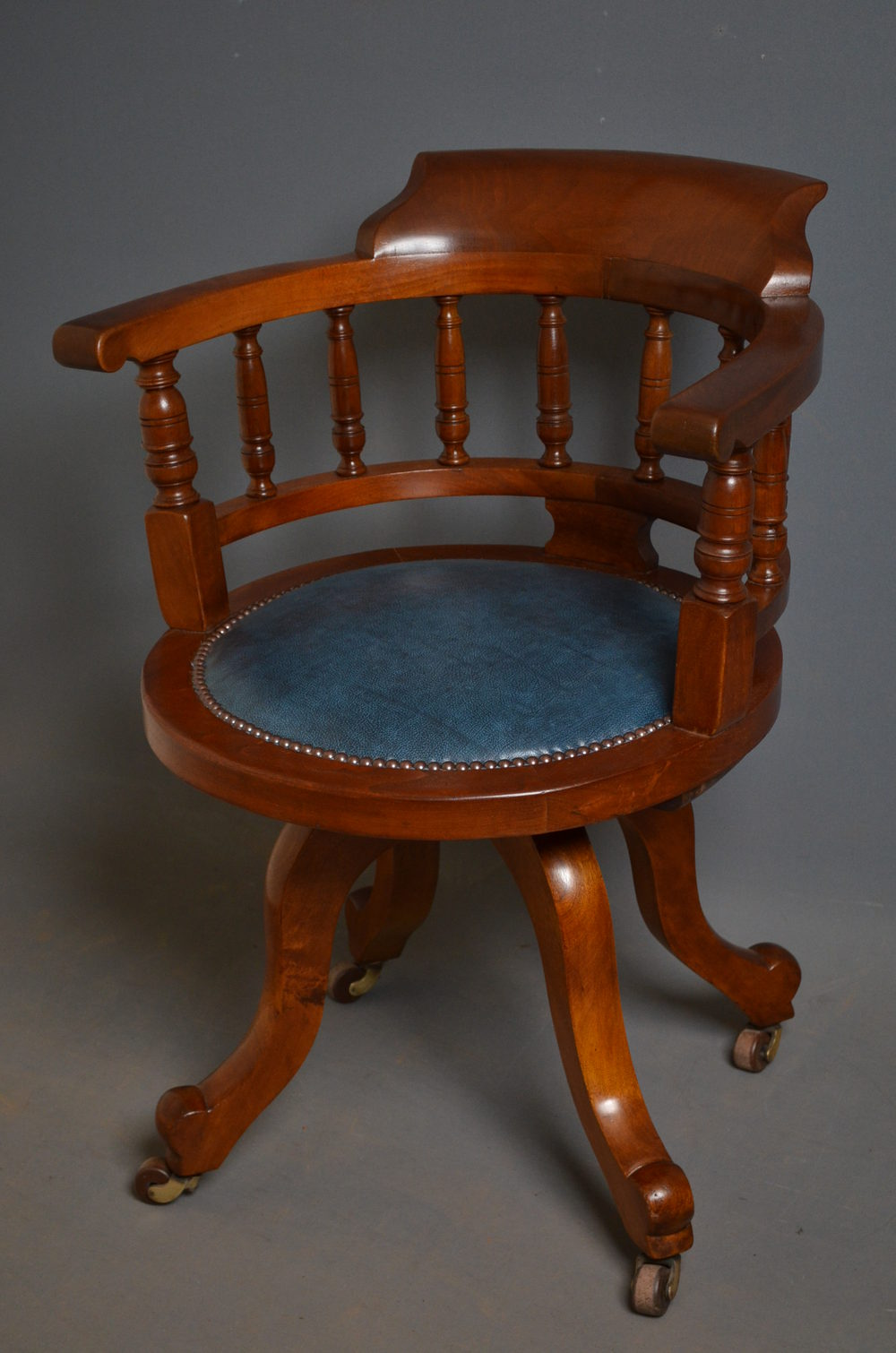 Genial Late Victorian Office Chair ...
