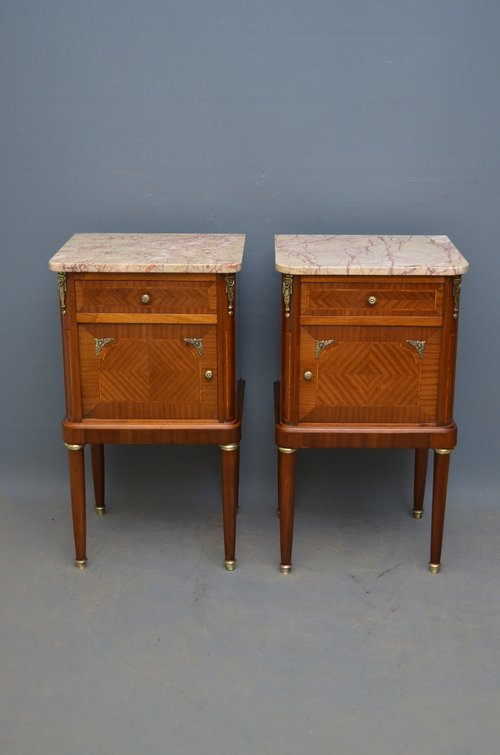 - Pair Of Antique Bedside Cabinets - Antiques Atlas