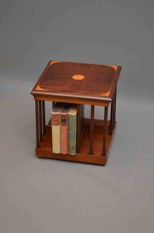 Unusual Table Top Revolving Bookcase ...