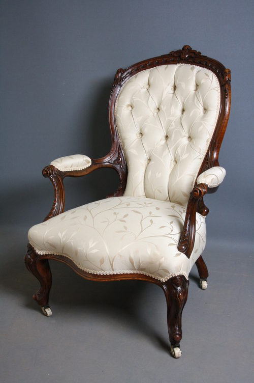 Victorian Armchair - Victorian Armchair - Antiques Atlas