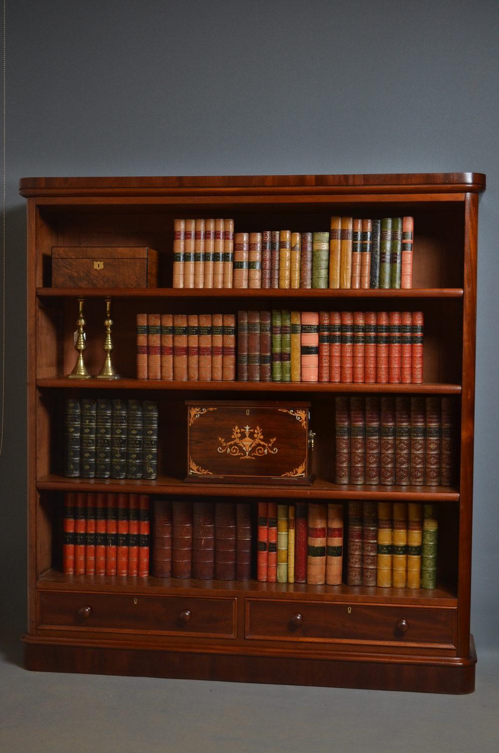 Victorian Bookcase Mahogany Bookcase Antiques Atlas