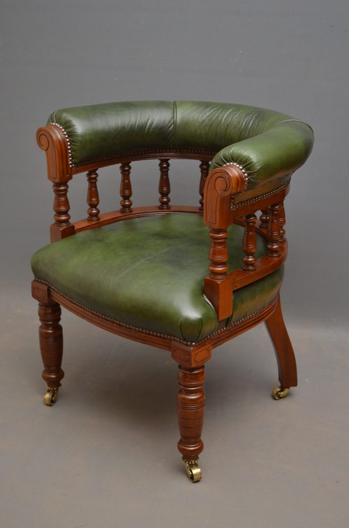 Victorian Club Chair Antique ...