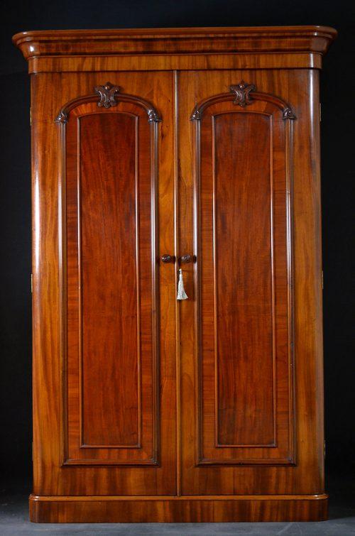 Victorian Double Wardrobe Mahogany Wardrobe Antiques Atlas