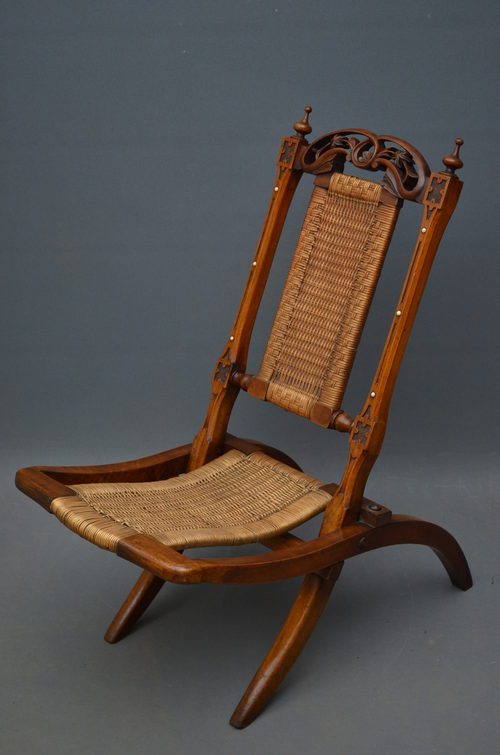 Victorian Folding Chair - Victorian Folding Chair - Antiques Atlas