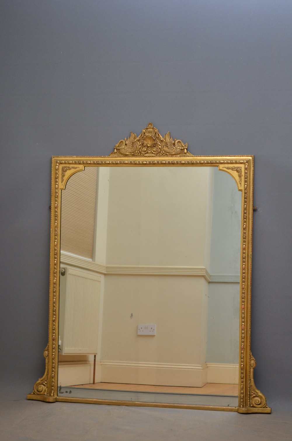 antiques atlas victorian giltwood overmantle mirror. Black Bedroom Furniture Sets. Home Design Ideas