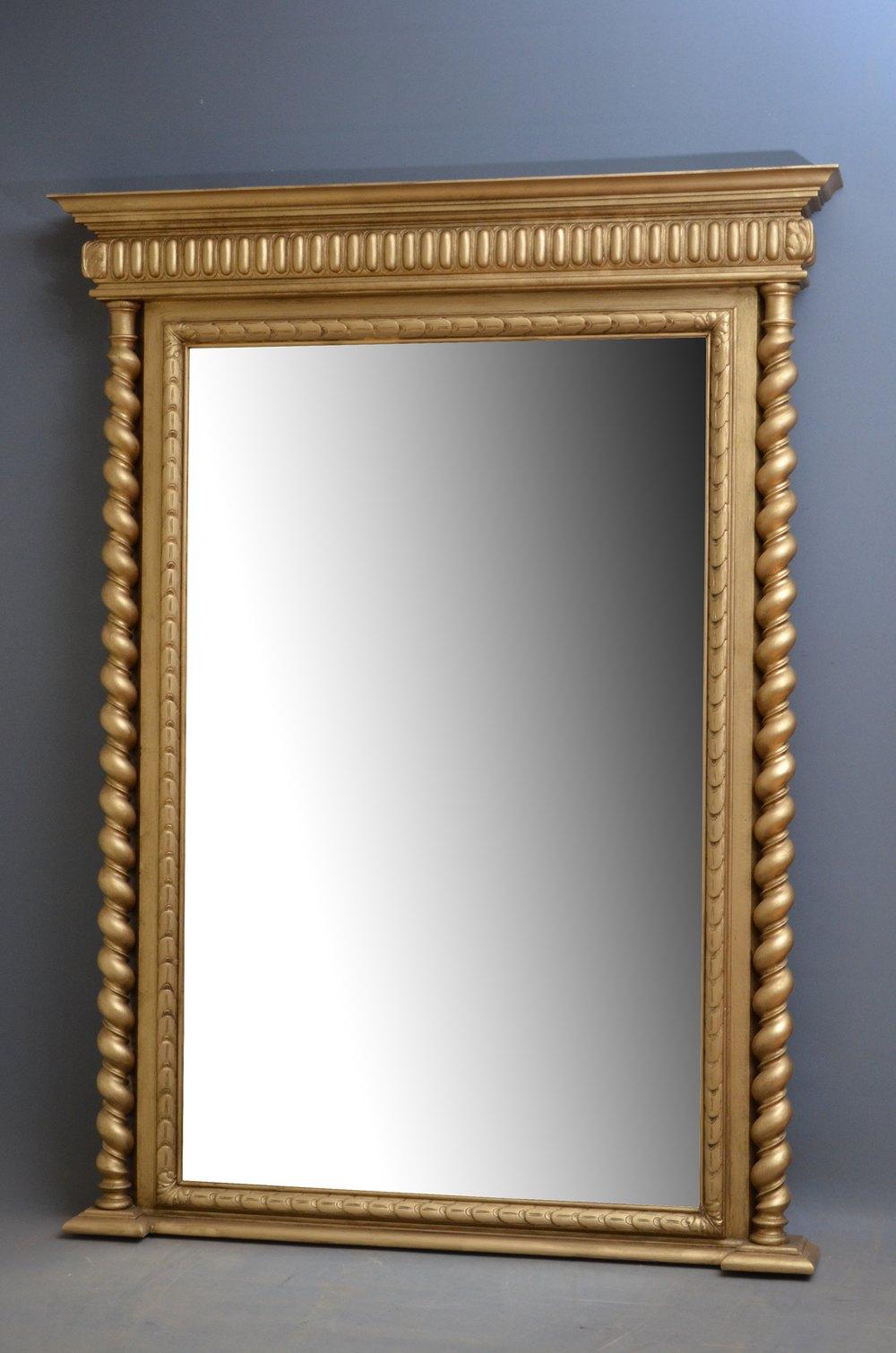 Antiques Atlas Victorian Giltwood Pier Mirror Gilt Mirror