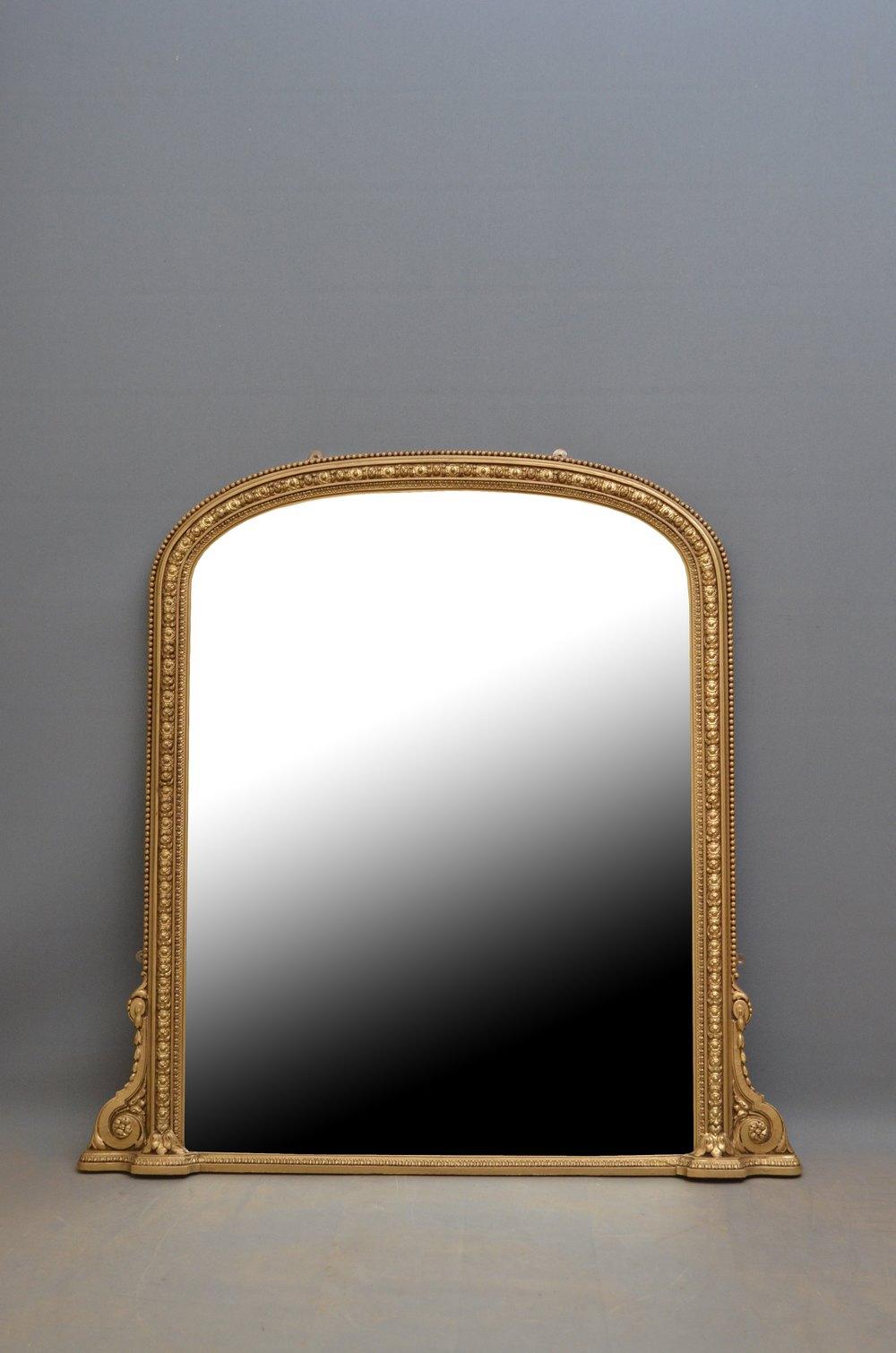 Antiques Atlas Victorian Giltwood Wall Mirror Gilt Mirror