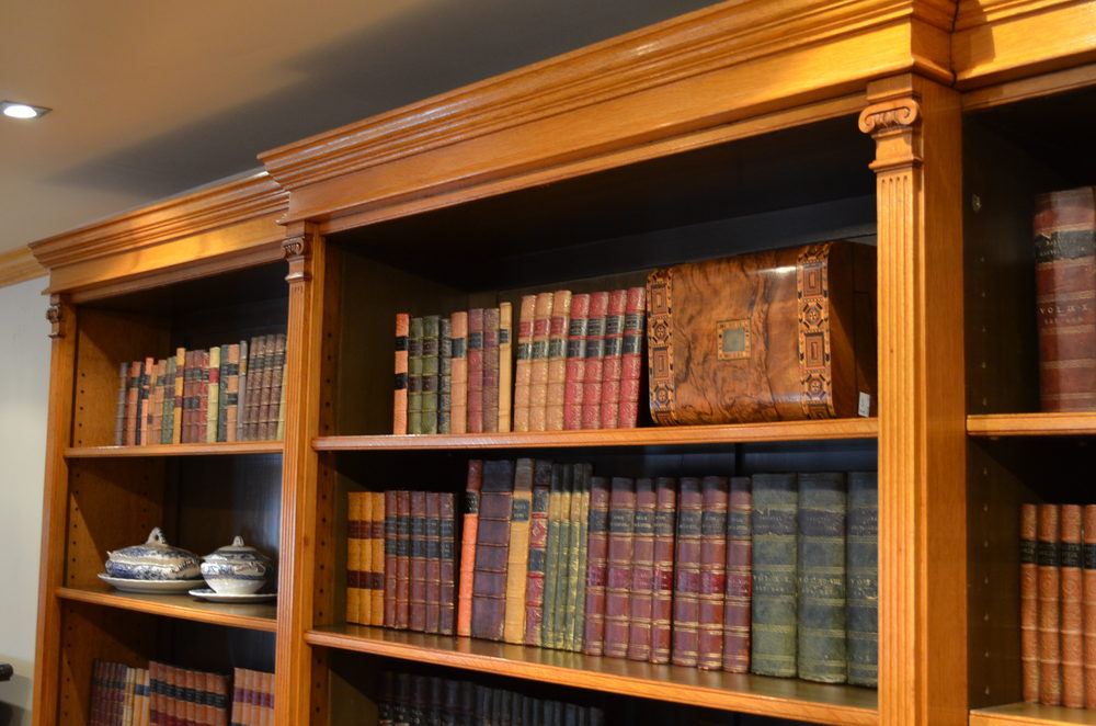 Victorian Oak Library Bookcase Antiques Atlas