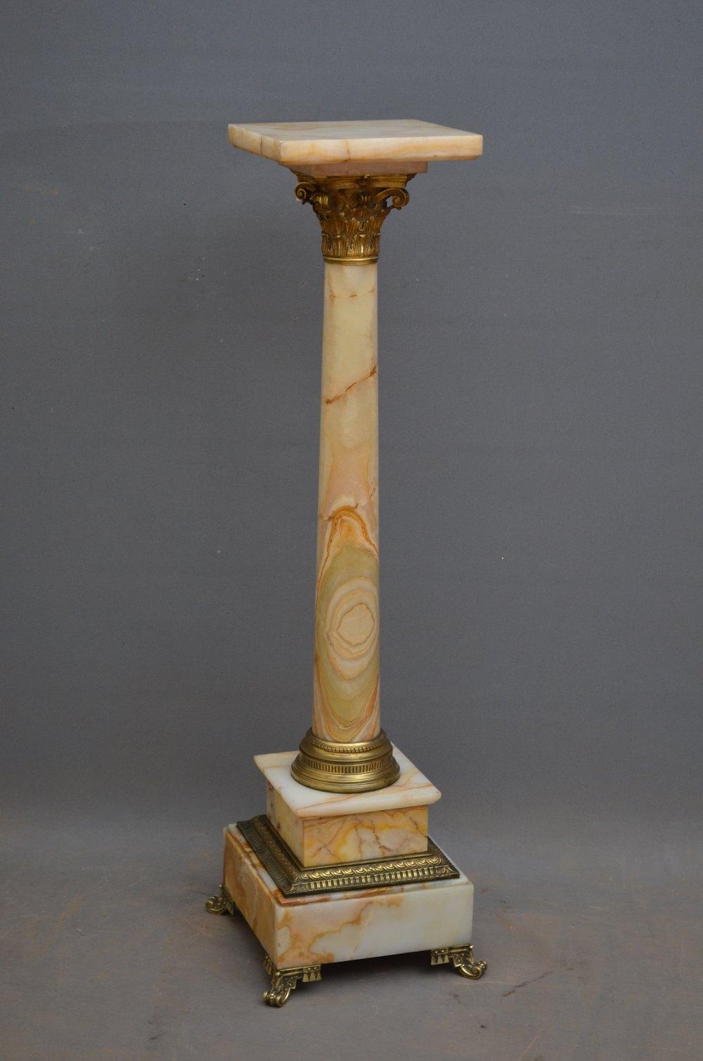 Antiques Atlas Victorian Onyx Column