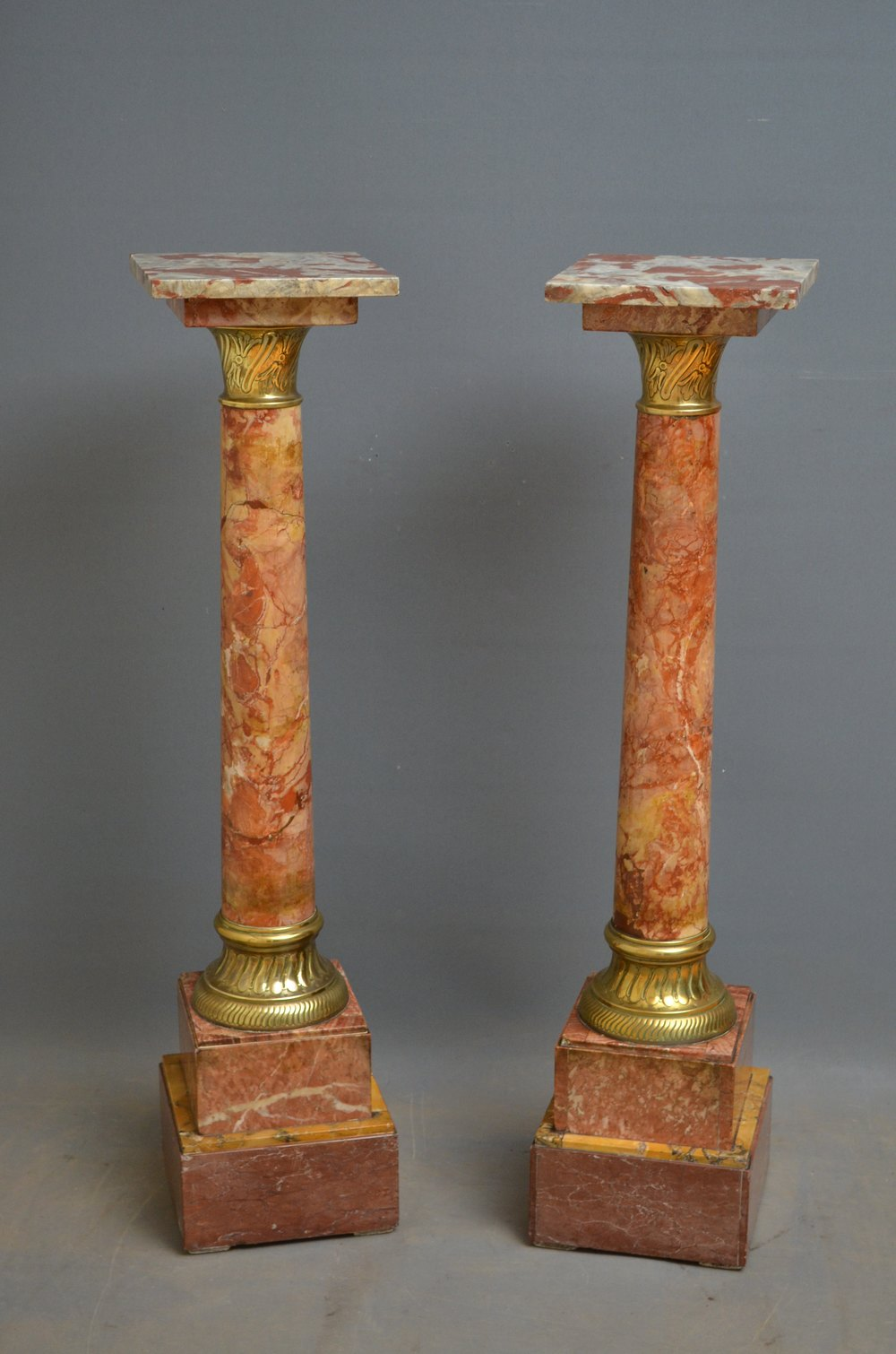 Victorian pair of marble columns antiques atlas Victorian columns
