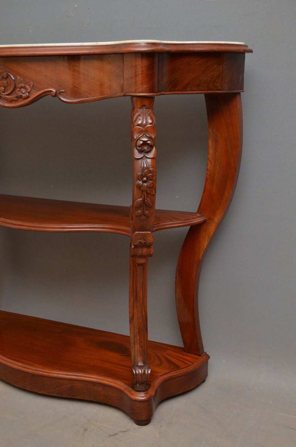 mahogany console table period mahogany console table antiques atlas 3947