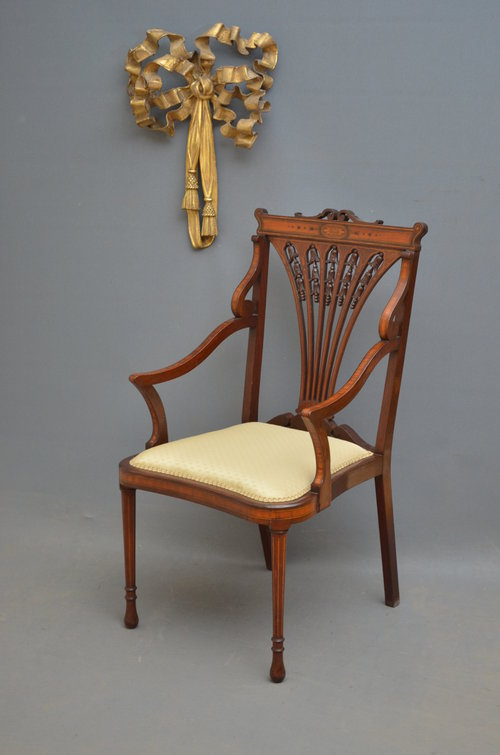 Wonderful Late Victorian Occasional Chair ...
