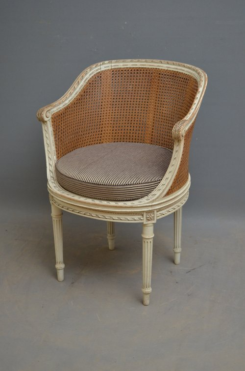 Bon XIXth Century French Bergere Chair