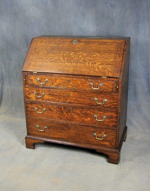 George III Oak Bureau