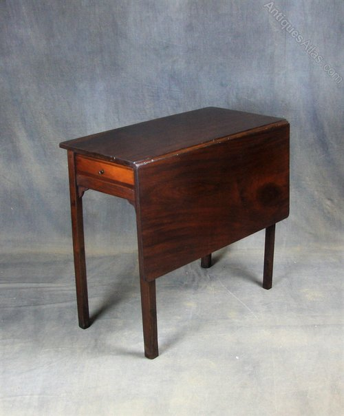 George II Mahogany Drop Leaf Table