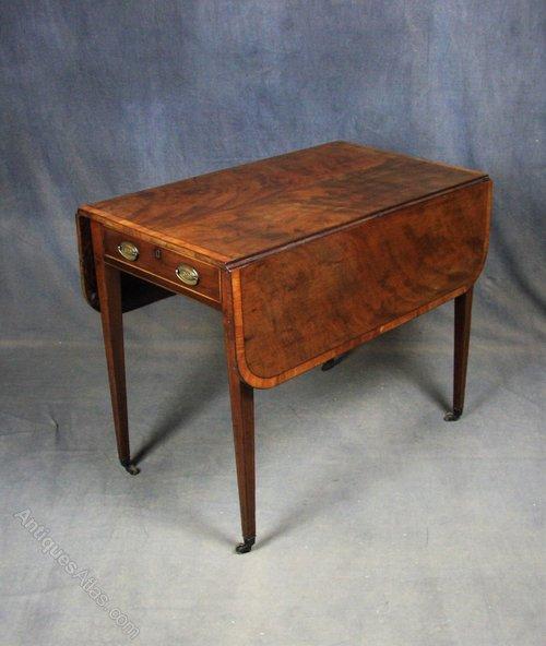 Georgian Mahogany Pembroke / Occasional Table