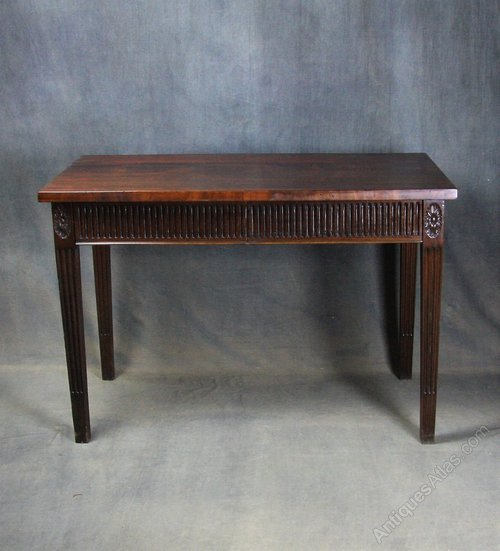Late Victorian Adam Style Serving / Side Table