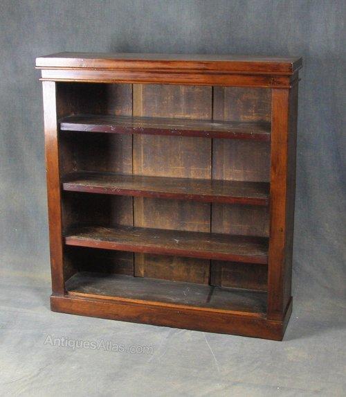 Late Victorian Mahogany Bookcase