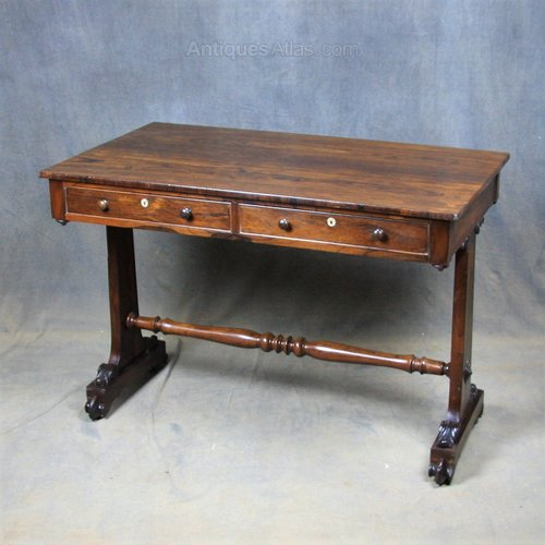 Regency Rosewood Writing Table
