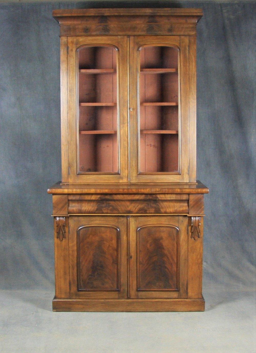 Victorian Mahogany Bookcase Antiques Atlas