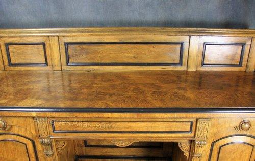 Victorian Pollard / Burr Oak Sideboard