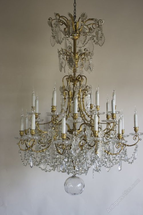 - Antiques Atlas - 19th C Baccarat Antique Chandelier
