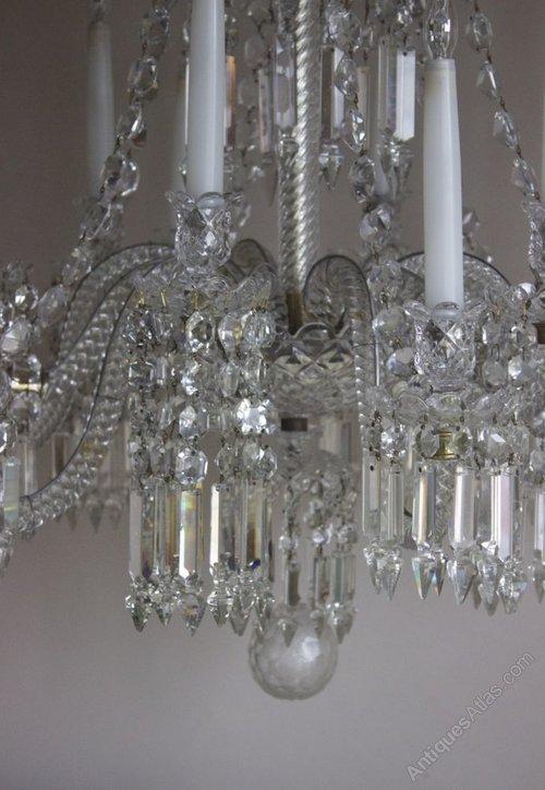 Antique chandelier by Baccarat circa 1840 Antique Lighting, Antique French  Chandeliers %%alt5%% - Antiques Atlas - Antique Chandelier By Baccarat Circa 1840