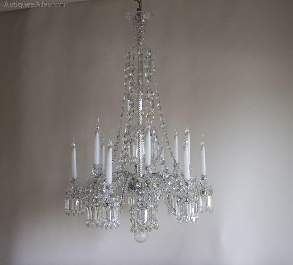 Photos. Antique chandelier by Baccarat ... - Antiques Atlas - Antique Chandelier By Baccarat Circa 1840